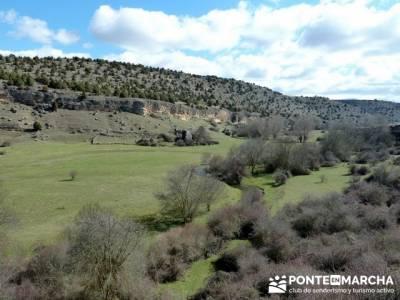 Senderismo Segovia - Riberas de los ríos Pirón y Viejo; foros de montaña; ruta charca verde